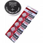 10 Adet Maxell Cr2032 Pil 3v Lityum Para Pil