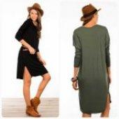 Kadın Yeşil Tunik Elbise