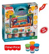 Fisher Price 4 Lü Oyun Hamuru + Fisher Price Çantlı Doktor Seti