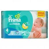 Prima Bebek Bezi Aktif Bebek 4 Beden Maxi Ekonomik Paket 45 Adet