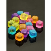 Tükenmez Buz Küpleri 40 Adet Renkli