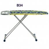 ütü Masası Sarı Mavi Desen 27 Farklı Desen Sağlam Kullanışlı B34
