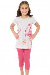özkan 41944 Kız Çocuk Taytlı Takım
