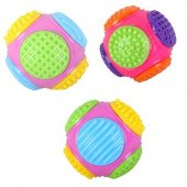 Eastland Renkli Plastik Köpek Oyun Topu 11 Cm