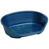 Ferplast Siesta Deluxe 10 Köpekler İçin Plastik Yatak Mavi