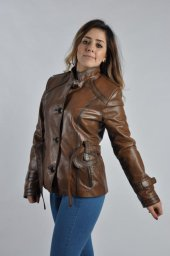 Bayan Deri Ceket Model B06