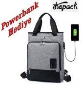The Pack Tp2040 Sentinus Usb Bayan Laptop Çantası
