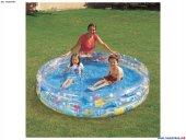 Bestway Çocuk Havuzu 3 Bölme Jumbo Balık Desen 183*33cm Pb51005