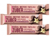 Züber Vanilyalı Çikolatalı Doğal Meyve Tatlısı 3 Adet X 40 Gr