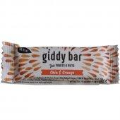 Giddy Bar Chia Ve Portakallı Meyve Bar 28 Gr