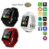 Sm U8xplus Smart Wathc Akıllı Saat Bluetooth Sd Kart Hafıza Kart
