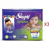 Sleepy Sensitive Junior Bebek Bezi 5 Numara 32*3 96 Adet