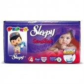Sleepy Sensitive Maxi Bebek Bezi 4 Numara 7 14 Kg 40 Adet