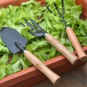 Bahçe Seti Mini 3lü Dirgen Kürek Tırmık