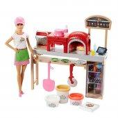 Mattel Barbie Pizza Yapıyor Oyun Seti Fhr09