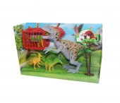 Animal World Of Sesli Oyuncak Dinozor Seti 800 63