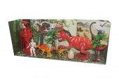 90 9 Bataryalı & Sesli Oyuncak Dinozor Seti Dev Boy