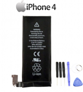 Apple İphone 4 Orjinal Batarya + 1420 Mah Pil + 6lı Tamir Seti