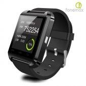 Fonemax U8 Siyah İos Ve Android Uyumlu Akıllı Saat U8saats