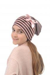 Babygiz Çizgili Özel Tasarım Şapka Bere Ns0165