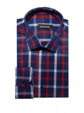 Lugon 0628 Uzun Kol Klasik Erkek Gömlek