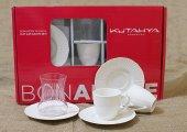 Kütahya Porselen Ilay Bonemare 18 Parça Cay Ve Türk Kahve Set