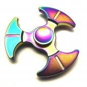 Rainbow Metal Stres Çarkı Hand Spinner Tek Rulmanlı