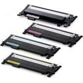 Samsung Clp 360 365 Clx 3300 3305 Muadil Toner Set...