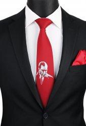 Kırmızı Atatürk Kravatı Tr57