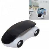 Araba Şeklinde Araç İçi Telefon Tutucu 360 Derece Dönen