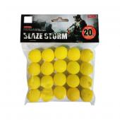 Vardem Oyuncak Yumuşak Top Mermi Zc05
