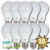 Vialicht 12w (75w) Led Ampul E27 1055 Lm Sarı Eco 10lu Paket