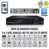 Cbox Cb 6608ahd 8 Kanal 1080 4 Ses Ahd+anlg+ıp Xmeye Hıbrıt Dvr Kayıt Cıhazı