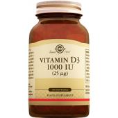 Solgar Vitamin D3 1000 Iu 100 Softgels