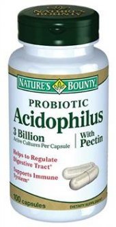 Natures Bounty Probiotic Acidophilus 100 Kapsül Skt 02 2019