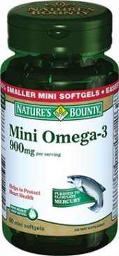 Natures Bounty Mini Omega 3 900mg 60 Yumuşak Kapsül Skt 07 20