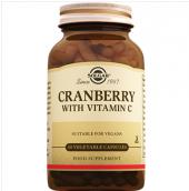 Solgar Cranberry With Vitamin C 60 Vegetable Kapsul
