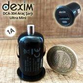Dexım Dca304 1a Ultra Mini Araç Çakmak Şarjı