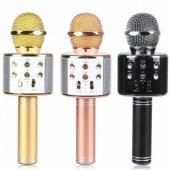 Ws 858 Karaoke Bluetooth Mikrofon Ve Taşınabilir H...