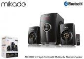 Mikado Md 660bt 2+1 Siyah Fm Destekli Multimedia Bluetooth Speake