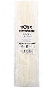 Tork Tkb 430s 4.8 432 Beyaz Kablo Bağı 100lü Paket