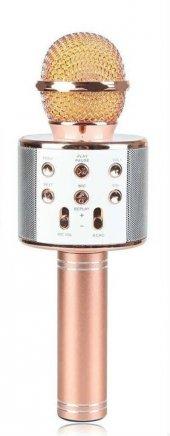 Ws 858 Magic Karaoke Bluetooth Mikrofon Aux Sd Card Fm Radyo Kara
