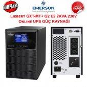 Emerson Liebert Gxt Mt+ G2 E2 2kva 230v Online Ups