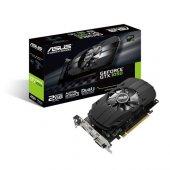 Asus 2gb Nvidia Gtx1050 Phoenix Ph Gtx1050 2g Ddr5 128bit Hdmı Dvı Displayport 16x (Pcıe 3.0) 75w 350w 7.0ghz
