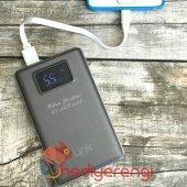 Isme Özel Link Digital Ekranlı Powerbank 10000 Mah.