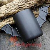 Yarasa Tasarımlı Kupa Bardak (Bat Mug)