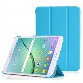 Microsonic Samsung Galaxy Tab S2 8.0 Smart Case Ve Arka Kılıf Mavi