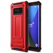 Verus Samsung Galaxy S8 Terra Guard Kılıf Crimson Red