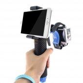 şamandıralı Kamera Ve Telefon Tutucu Pistol Triger Set
