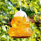 Arı Böcek Kapanı Tuzağı Arı Savar İpli Asılabilir Sarı